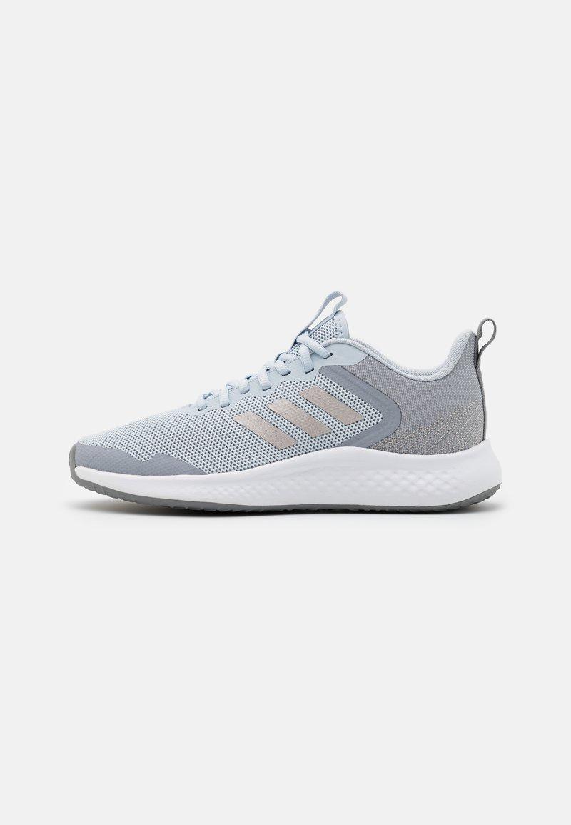 adidas Performance - FLUIDSTREET - Zapatillas de entrenamiento - halo blue/champagne metallic/halo silver