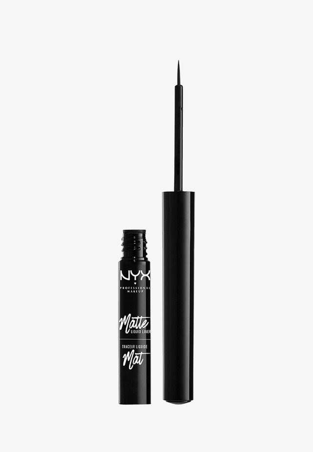 EYELINER MATTE LIQUID LINER - Eyeliner - 1 black