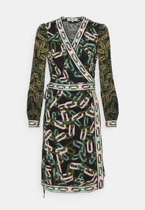 GALA - Jersey dress - black/ivory