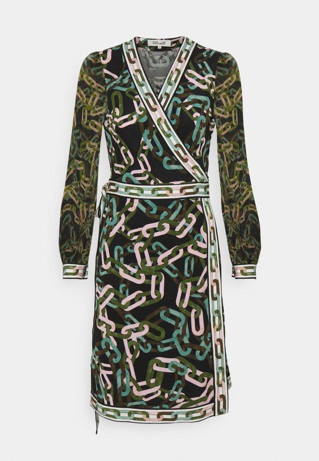 GALA - Jerseyklänning - black/ivory