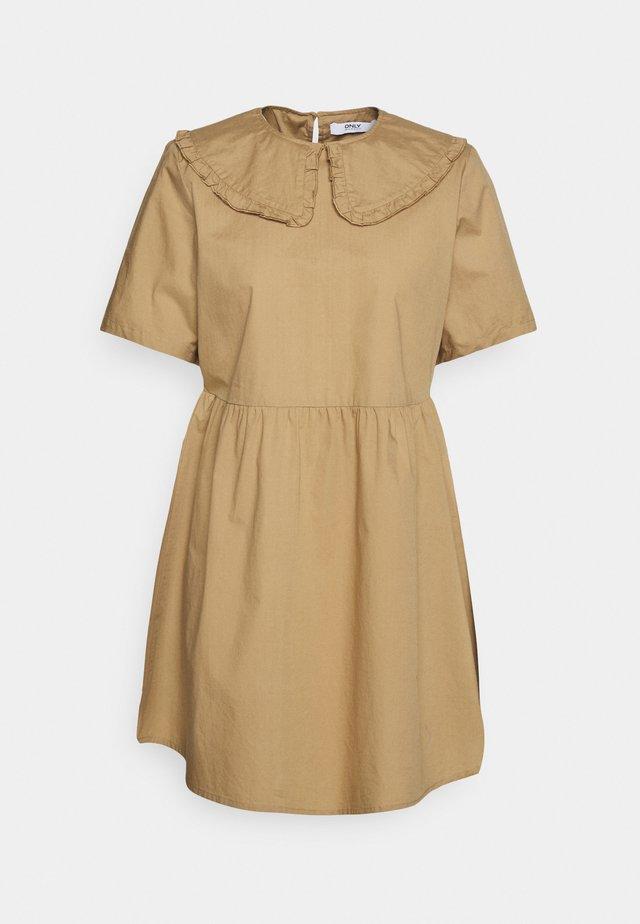 ONLSALEM SHORT DRESS - Kjole - silver mink