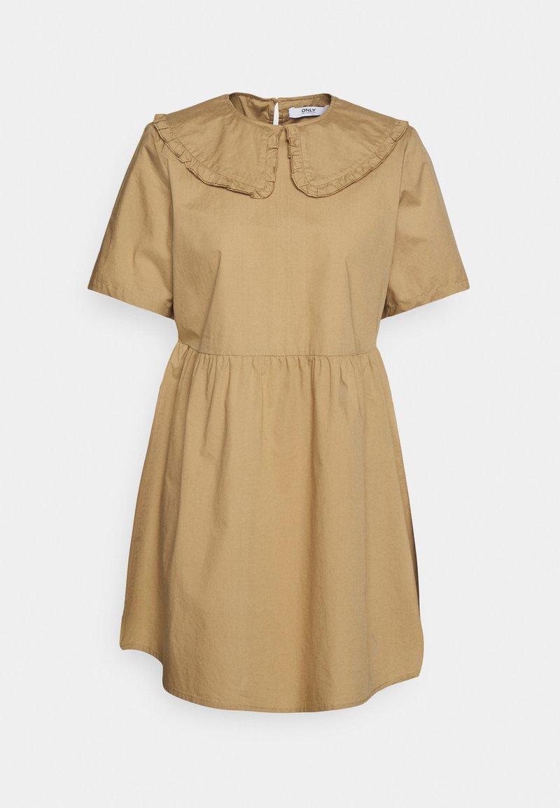 ONLY Petite - ONLSALEM SHORT DRESS - Robe d'été - silver mink