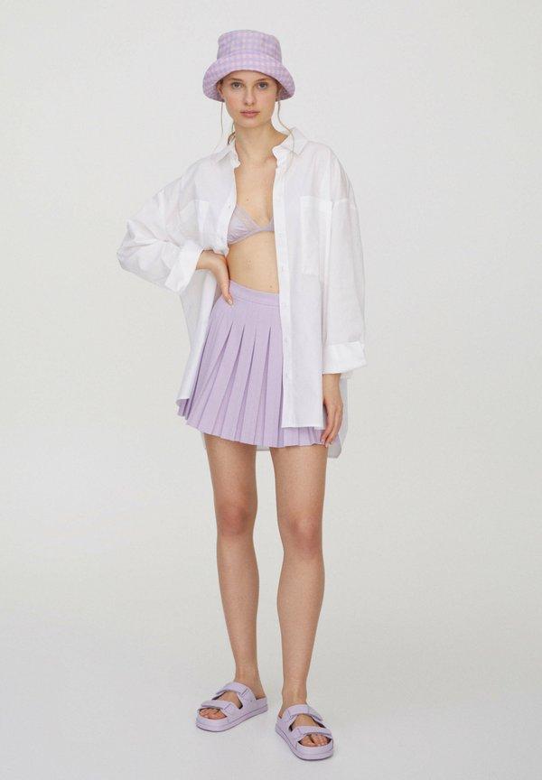 PULL&BEAR MIT TASCHEN - Koszula - white/biały TIQV