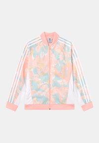 adidas Originals - Sportovní bunda - pink tint/multicolor/white - 0