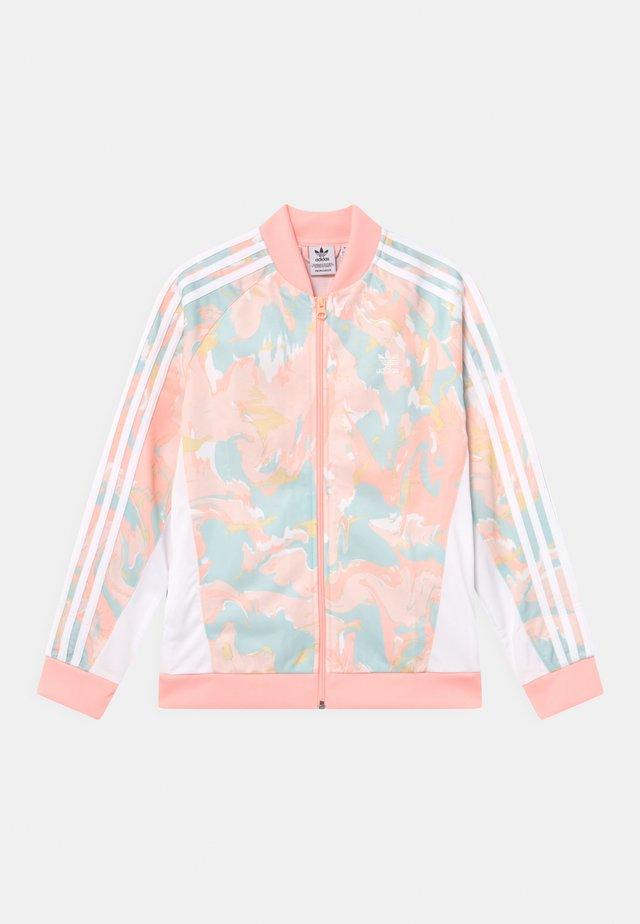 Trainingsvest - pink tint/multicolor/white