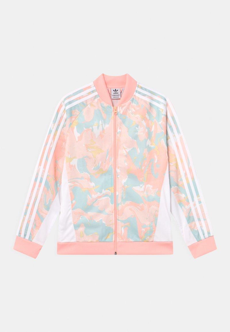 adidas Originals - Sportovní bunda - pink tint/multicolor/white