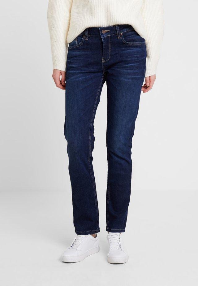 ASPEN - Jeans slim fit - sian