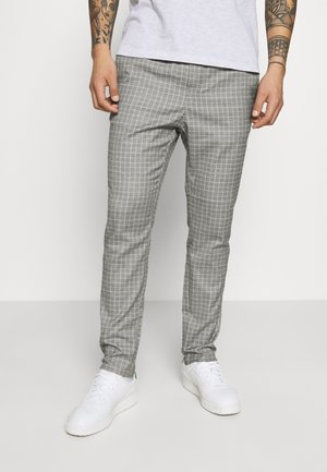 ONSLINUS PANT  - Tygbyxor - light grey melange