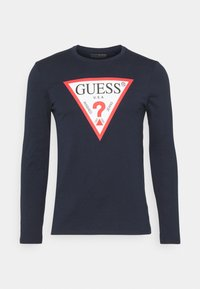 Guess - ORIGINAL LOGO CORE TEE - Long sleeved top - suiting blue - 3