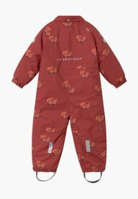 TINYCOTTONS - FOXES SNOW  - Snowsuit - dark brown/sienna - 2