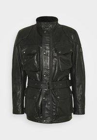Belstaff - TRIALMASTER PANTHER JACKET - Veste en cuir - black - 0