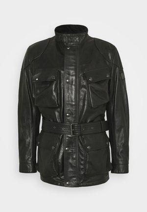 TRIALMASTER PANTHER JACKET - Leather jacket - black