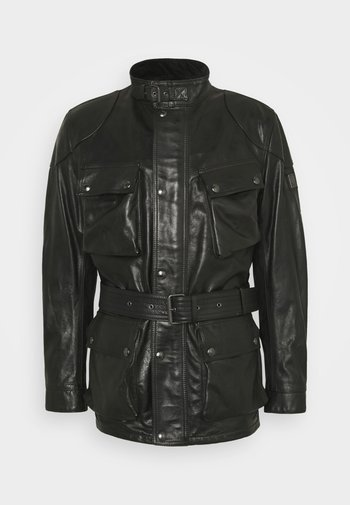 TRIALMASTER PANTHER JACKET - Veste en cuir - black