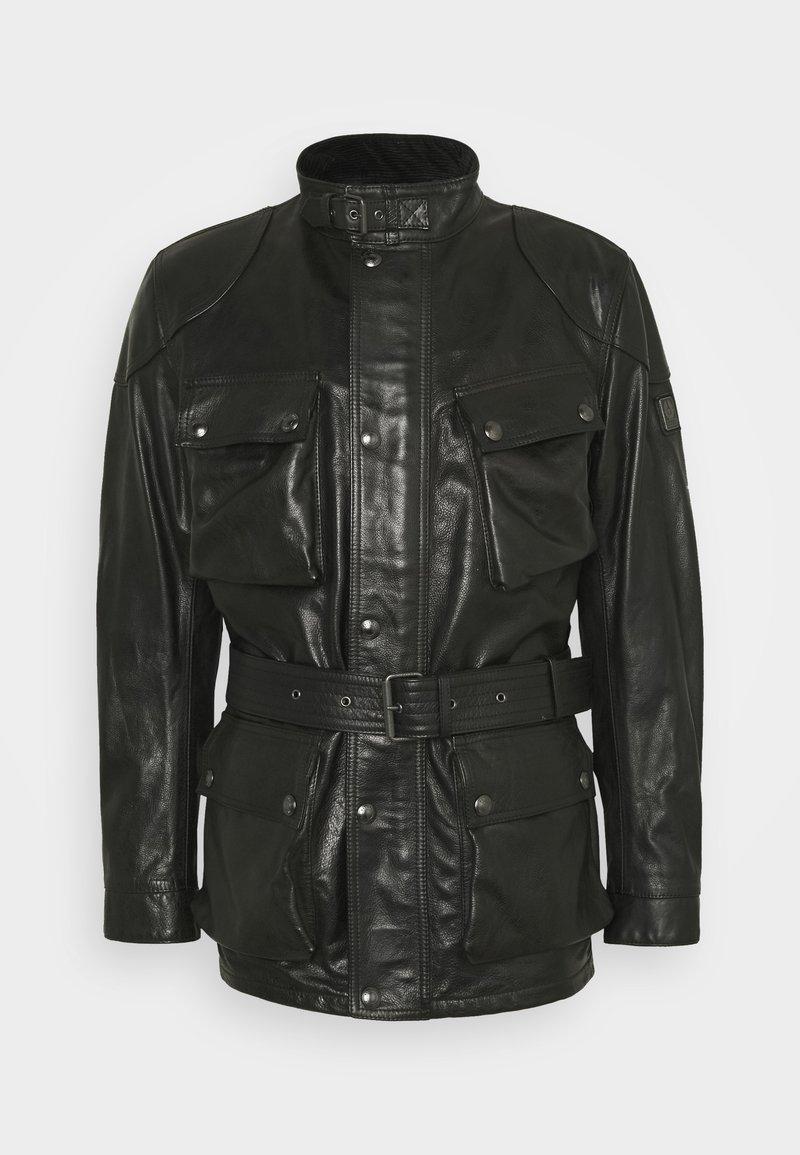 Belstaff - TRIALMASTER PANTHER JACKET - Veste en cuir - black