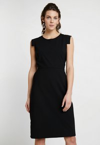 J.CREW TALL - RESUME DRESS BISTRETCH - Etuikleid - black - 0