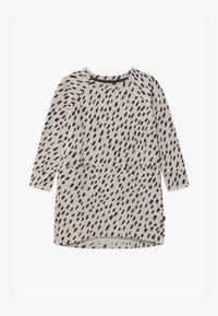 Papu - OVAL SPLIT - Day dress - canvas grey/black - 0