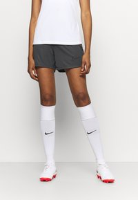 Nike Performance - DRY ACADEMY SHORT - Pantalón corto de deporte - anthracite/black - 0