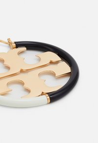 Tory Burch - MILLER HOOP EARRING - Náušnice - gold-coloured/black/new ivory - 2