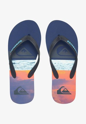 T-bar sandals - blue/blue/orange