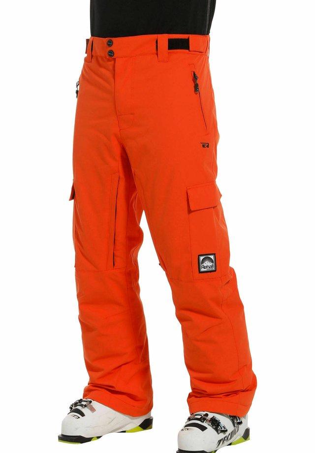 EDGE-R - Snow pants - orange