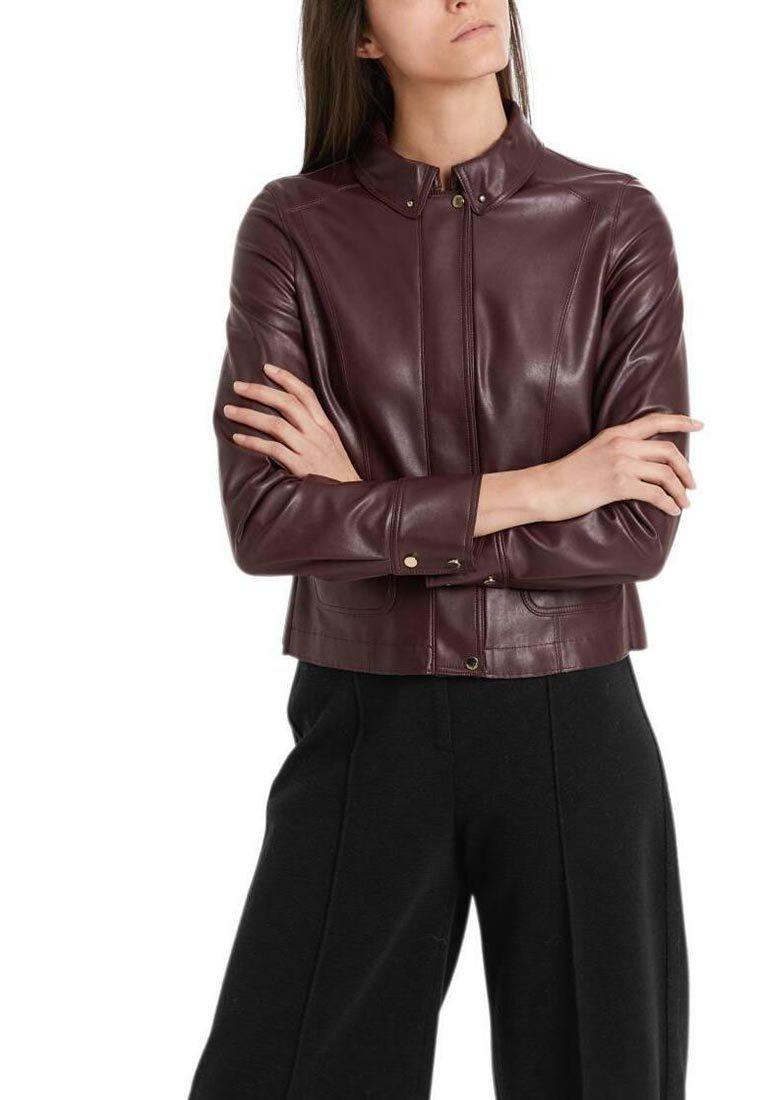 Marc Cain - Light jacket - aubergine
