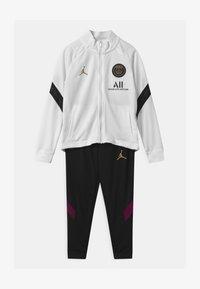 Nike Performance - PARIS ST GERMAIN SET UNISEX - Club wear - white/black/truly gold - 0