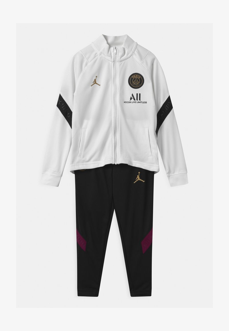 Nike Performance - PARIS ST GERMAIN SET UNISEX - Club wear - white/black/truly gold