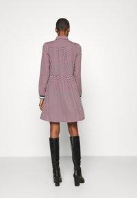 NAF NAF - ARLEQUIN - Shirt dress - multi-coloured - 2