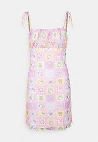 NEW girl ORDER - PATCHWORK BODYCON DRESS - Shift dress - multicoloured - 4