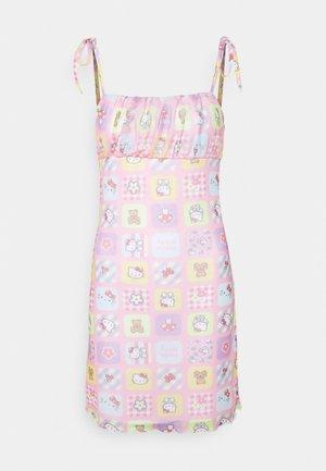 PATCHWORK BODYCON DRESS - Etui-jurk - multicoloured