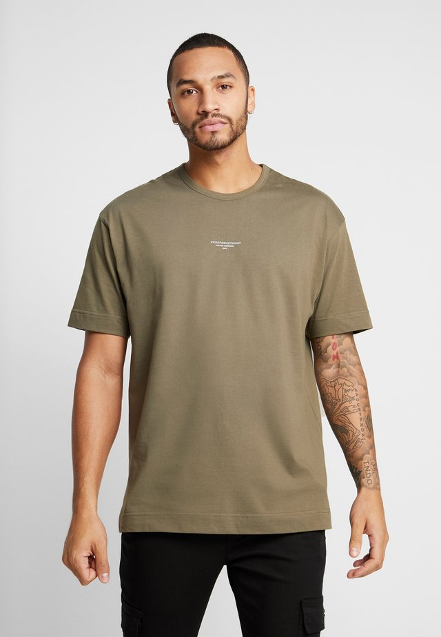ESSENTIAL - Basic T-shirt - khaki