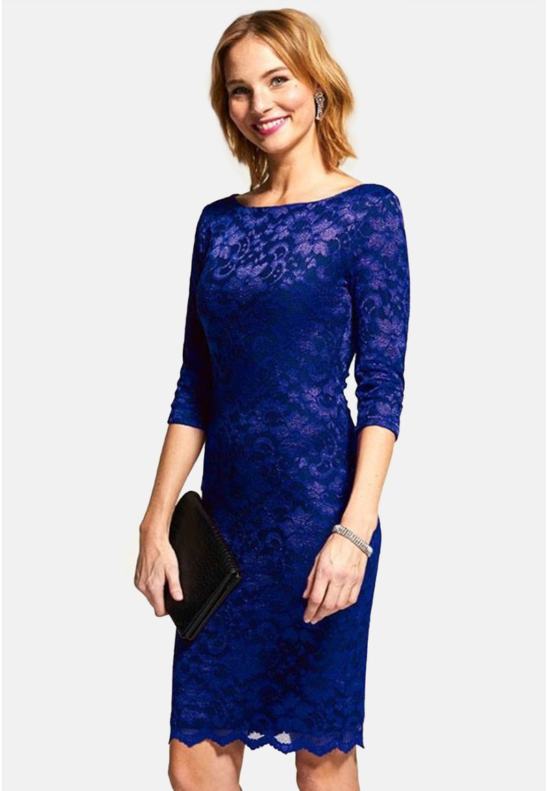 HotSquash - Pouzdrové šaty - dark blue