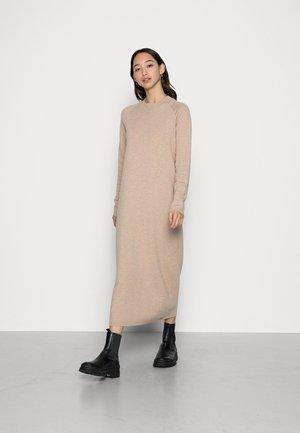 DRESS MILA - Jumper dress - beige