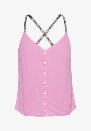 CAMI BUTTON THRU - Top - pink