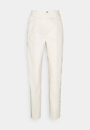 BLEND TAPERED ANKLE PANT - Trousers - ivory