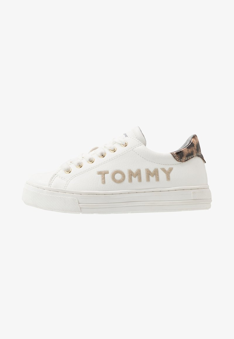 Tommy Hilfiger - Sneakers laag - white/platinum