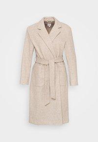 ONLY Petite - ONLTRILLION LONG BELT COATIGAN  - Classic coat - humus - 4