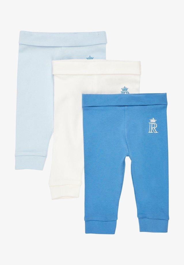 3 PACK - Leggings - blue