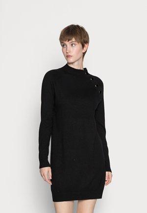 MERCI - Pletené šaty - noir