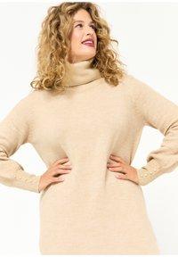 LolaLiza - Jumper dress - beige - 2
