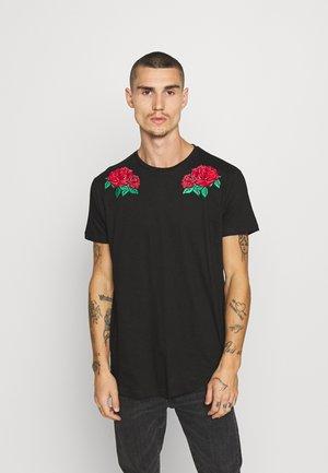 PARSICA - Print T-shirt - jet black