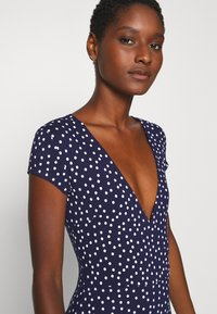 Anna Field - Jersey dress - maritime blue/white - 3