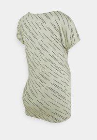 Supermom - TEE TEXT - Print T-shirt - seagrass - 1
