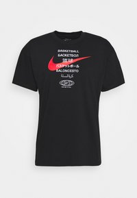 Nike Performance - TEE GLOBAL CONTENT  - Print T-shirt - black - 4