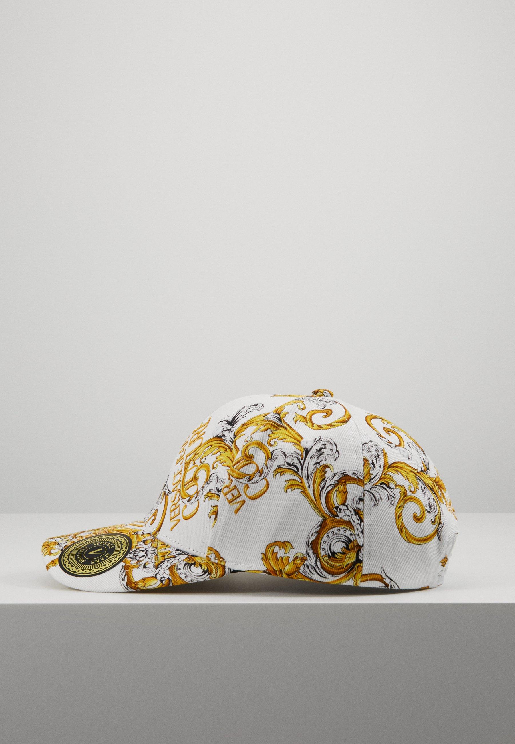 Versace Jeans Couture Cap - white/gold/hvit It9z3chCOCi3ZMj