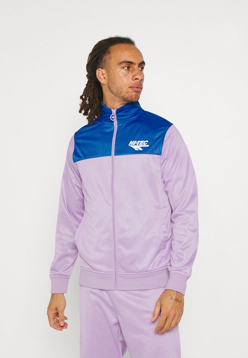 Hi-Tec - ASHFORD TRACKSUIT - Tracksuit - purple/blue