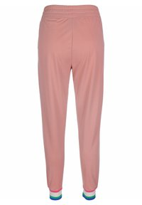 Nike Sportswear - Tracksuit bottoms - rust pink/white - 1