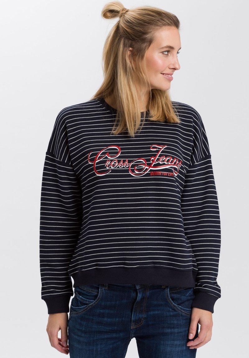 Cross Jeans - Sweatshirt - navy