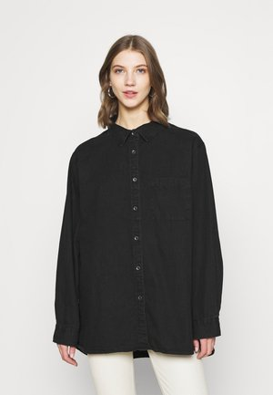 BOYFRIEND - Skjorte - washed black