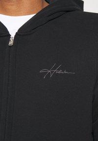 Hollister Co. - Bluza rozpinana - black - 4